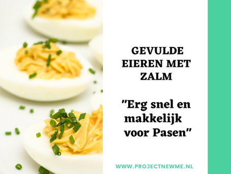 Gevulde eieren met Zalm (voor Pasen)