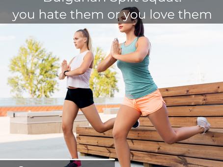 Bulgarian split squats: je haat ze of je houdt van ze.