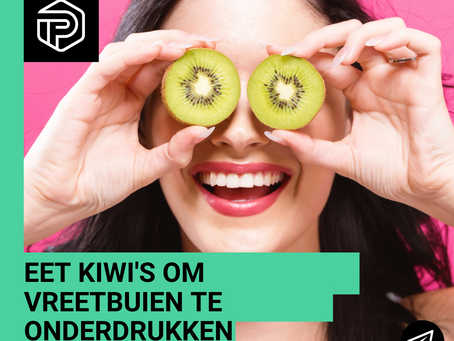 Helpen kiwi's eetbuien te onderdrukken?