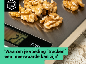 Voeding ´tracken´ do or don't?