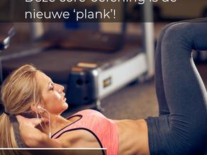 Maak kennis met 'the dead bug': een oefening die nóg beter is dan de plank.