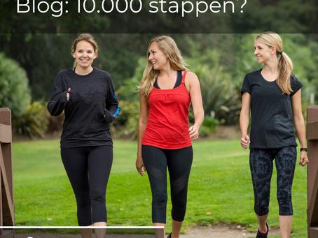 Zoveel stappen zou je elke dag moeten lopen.
