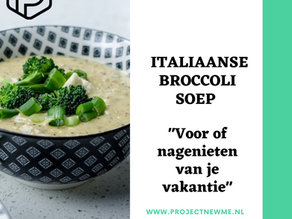 Italiaanse broccolisoep