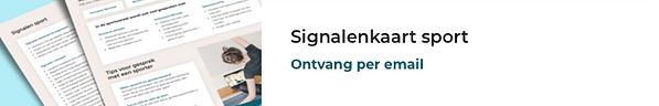 Signalenkaart sport