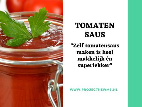 Zelf tomatensaus maken is heel makkelijk én superlekker