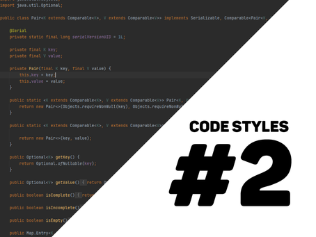 different styles when coding #2