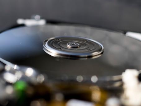 electronics and mechanics close-up