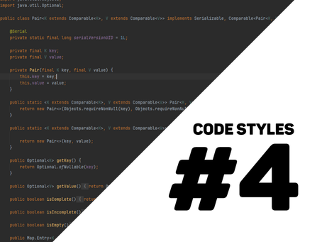 different styles when coding #4