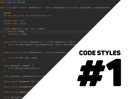 different styles when coding #1