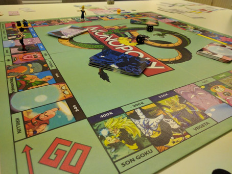First round playing monopoly