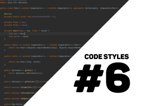 different styles when coding #6