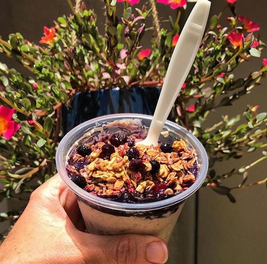 Blueberry Crisp Overnight Oats