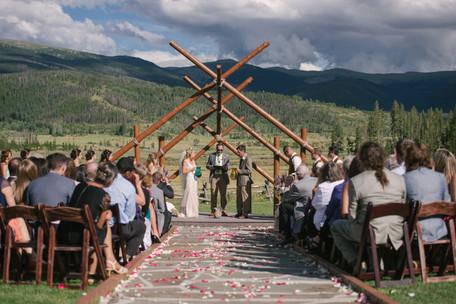 boho bride colorado destination wedding