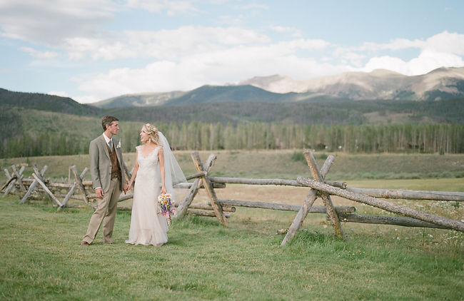 Jordan Weiland Colorado wedding Devils Thumb Ranch