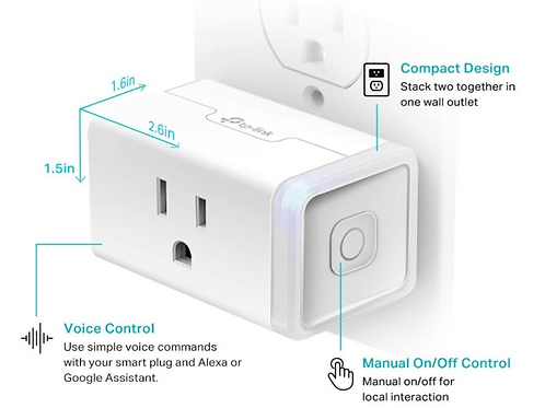 Smart Plug for Air Purifier (4 pack)