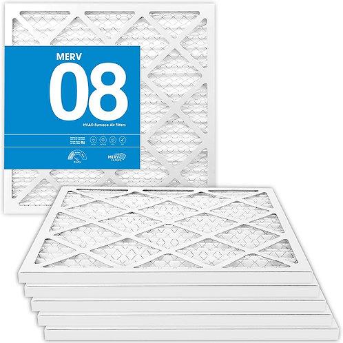Pleated MERV 8 Pre-filter (6-Pack)