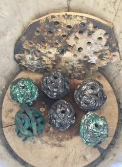 Brænde Kobber Mat
