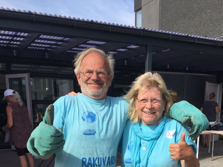 Raku Workshop med Ine og Ed Knops