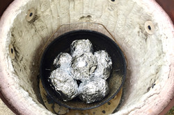 Opsamling af aluminiums folie