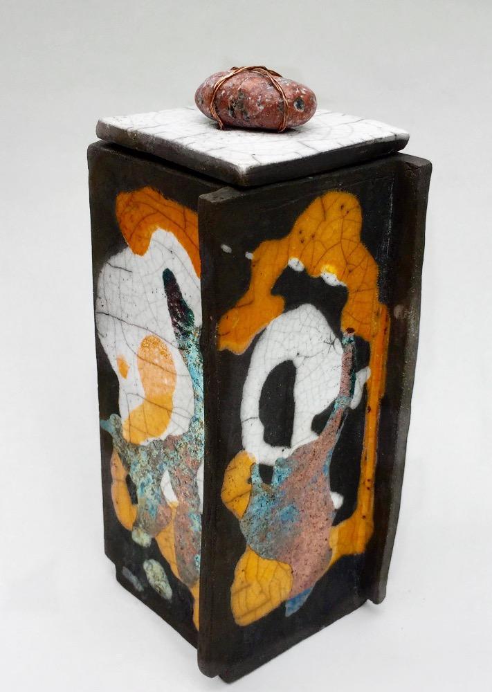 Vase med låg