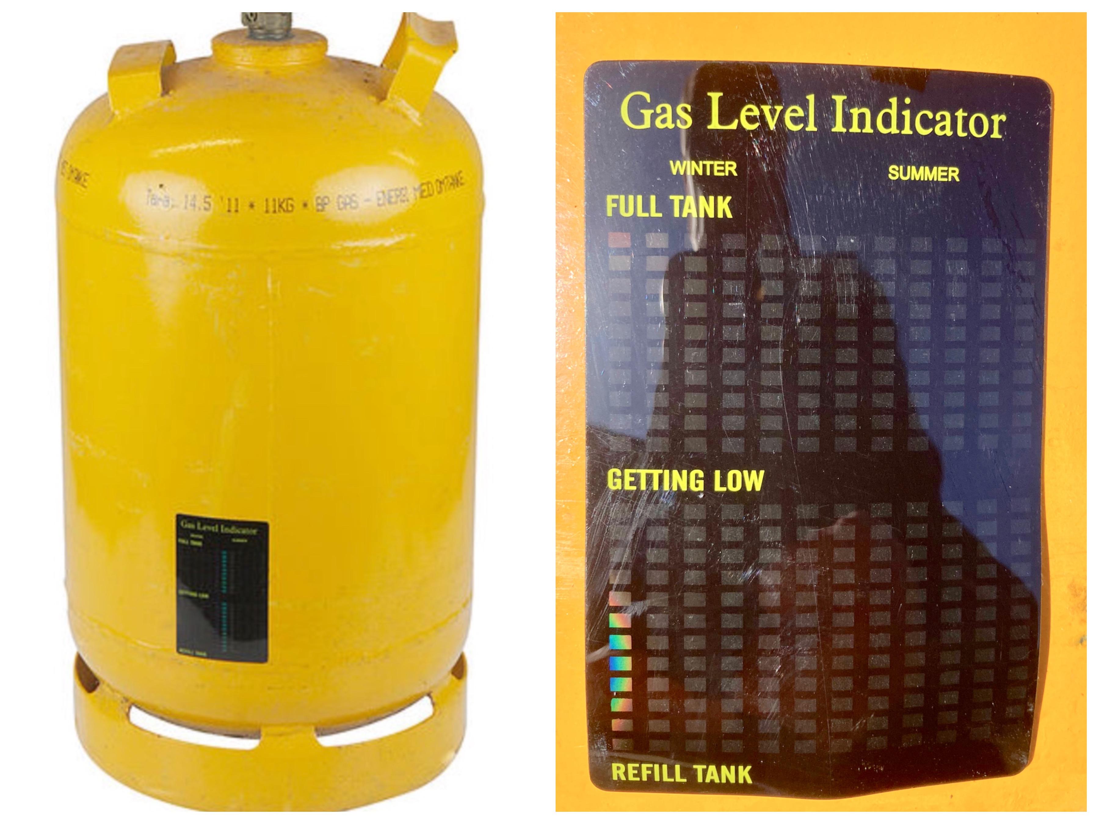 Gas-indikator