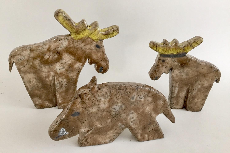 Elge og vildsvin