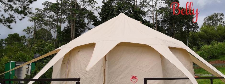 Lotus Tent ขนาด 4 เมตร