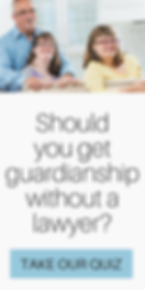 Can I get guardianship without a lawyer