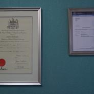 Diploma Royal College of surgeons