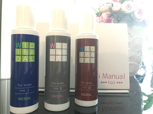 i Manual 遺伝子解析キット(頭皮&ヘア)+WIDEALヘアエッセンス1本のセット