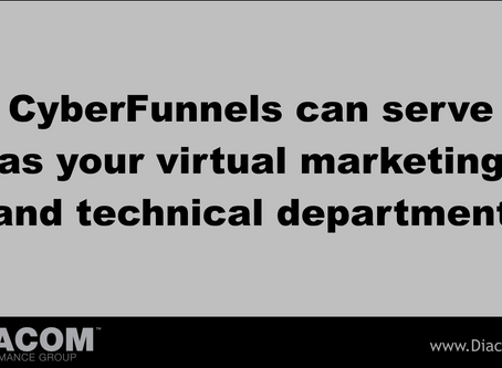 CYBERFUNNELS CAN SERVE AS YOUR VIRTUAL MARKETING AND TECHNICAL DEPARTMENT