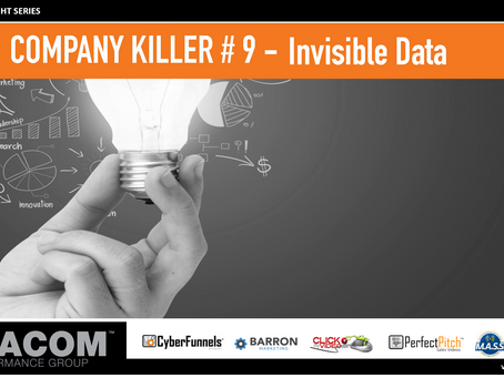 COMPANY KILLER # 9 - Invisible Data