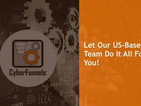 LET OUR US-BASED TEAM DO IT ALL FOR YOU!
