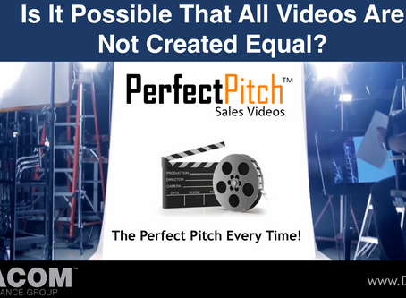 PERFECT PITCH SALES VIDEO #2 - Is It Possible That All Videos Are Not Created Equal?
