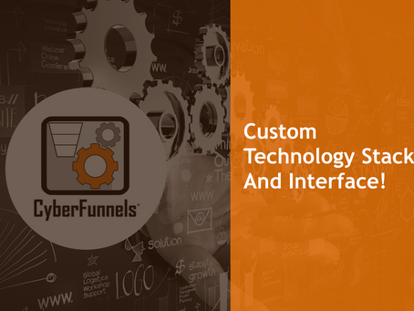 #6 – Custom Technology Stack And Interface!