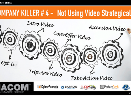 COMPANY KILLER # 4 - Not Using Video Strategically