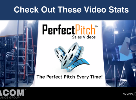 PERFECT PITCH SALES VIDEO #5 - Check out these videos stats