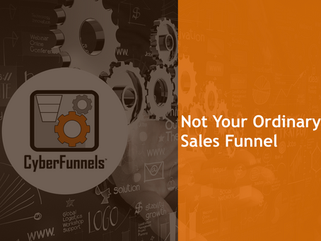 NOT YOUR ORDINARY SALES FUNNEL