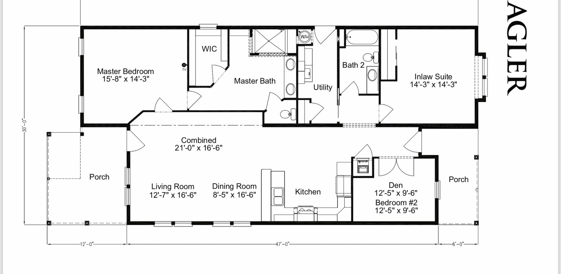 Flagler Floor Plan