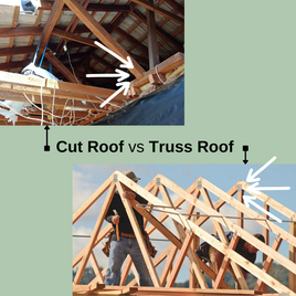 What is a cut roof?