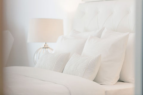 Hotel Room with Pillows