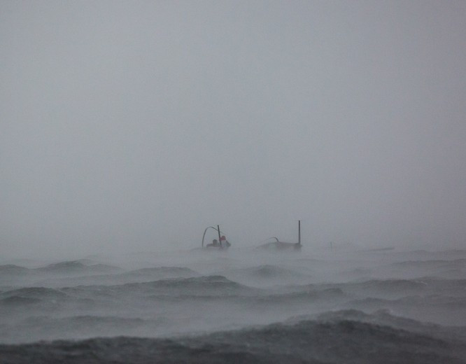 Tempête sur le Lac Léman