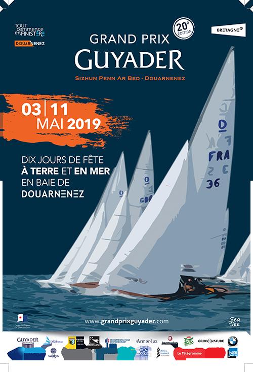 Affiche Grand Prix Guyader