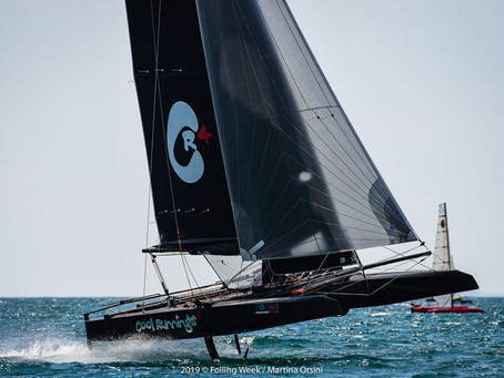 THE ETF SERIES RETURN TO THE FOILING WEEK
