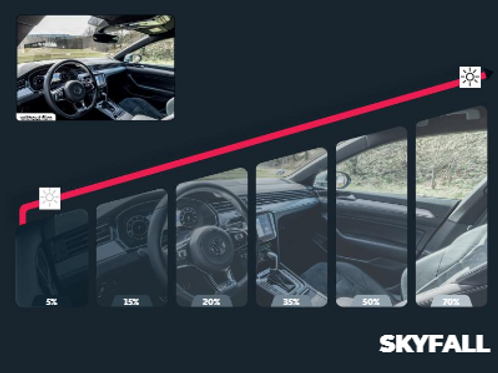 Skyfall Series Auto Window Film
