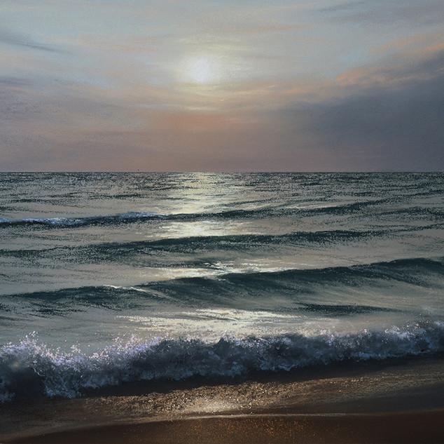 Evening sea 30x40 2018.jpg