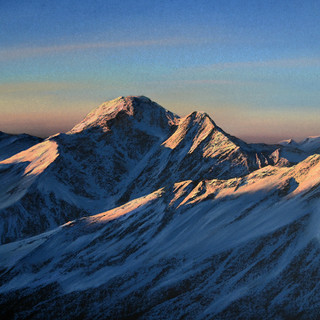 Sunrise in the mountains 30x40 2018.jpg