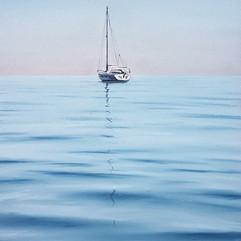 Одинокая яхта (20х30 см. 2017 г.).jpg
