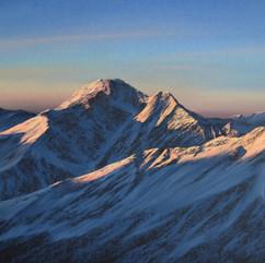 Рассвет в горах (40х30 см. 2018 г.).jpg