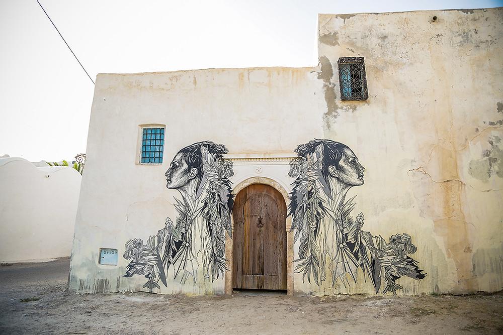 Djerbahood: artist facade